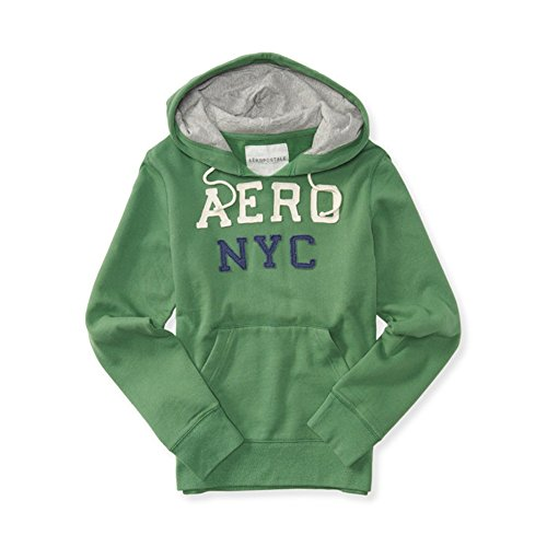 aeropostale-mens-new-york-1987-full-zip-and-pull-over-hoodie-sweat-shirt-xl-green-4657