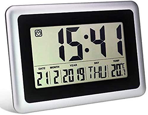 Beautiful Reloj Digital de Alarma con Pantalla de LCD, Reloj de ...