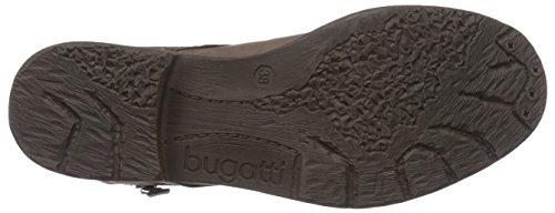 Bugatti J4737PR5G, Women's Biker Boots Brown (Taupe / D,grau 187 187)