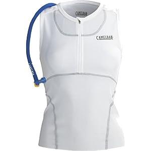 CamelBak Women's RaceBak 72-Ounce Hydration Pack,White,Small
