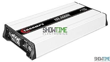 Nueva taramps HD5000 HD 5000 W, 12,6 V 1 Ohm Car Audio competencia
