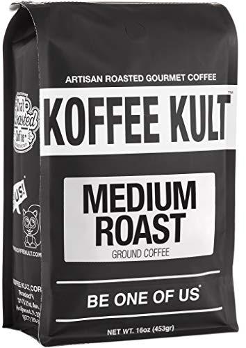 Koffee Kult Medium Roast Ground Coffee 16oz