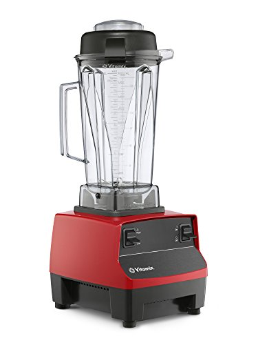 (Vitamix Two Speed Blender, Professional-Grade, 64oz. Container, Red (Renewed))