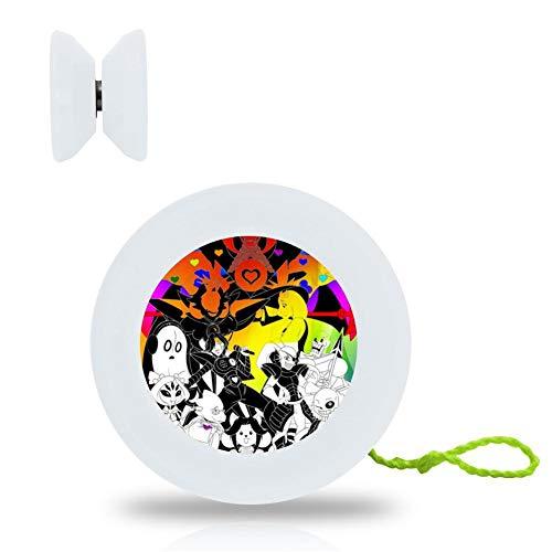 (JENNIFER LADD Responsive Yo-yos Beginner, Under-Tale YoYo Professional Best Gift for Halloween Christmas, 5strings yoyo Gift and Glove Include)