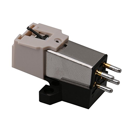 Mxfans White Color Turntable Replacement Needle Record Phono Cartridge Universa by Mxfans (Image #2)