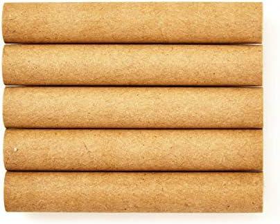 bambuswald© 100x Papierhülsen für Insektenhotels - Nisthülsen mit Ø 10mm & 6cm Länge - 100% ökologische Pappröhrchen für Insektenhotel, Niströhren & Bruthülsen als Füllmaterial für Bienenhotel