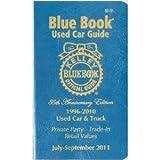 Kelley Blue Book Used Car Guide July-September 2011