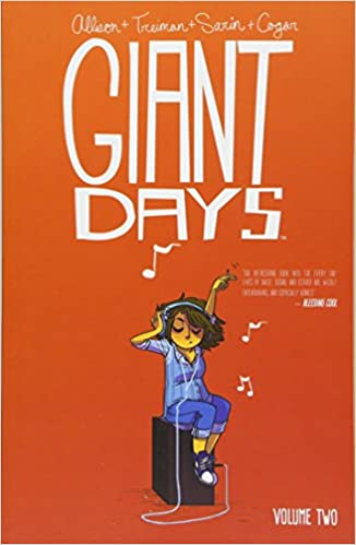 Image result for giant days vol 2