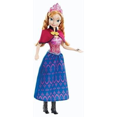 Disney Frozen Musical Magic Anna Doll: Toys & Games