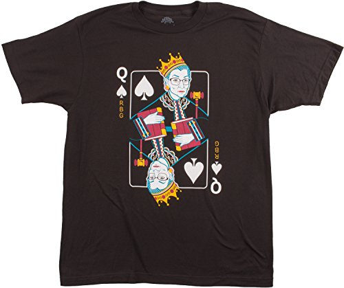 Queen R.B.G. Funny Progressive Liberal Ruth Bader Ginsburg Unisex RBG T-Shirt