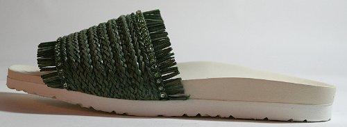 Beautystep Damen Aktiv Fitness Sandale Gr. 38 oliv