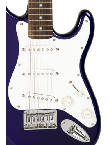 squier by fender limited edition mini strat electric guitar blue buy online in uae. Black Bedroom Furniture Sets. Home Design Ideas