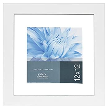 gallery solutions 12x12 white float frame for floating display of 10x10 image 14fw1256 - Float Frame