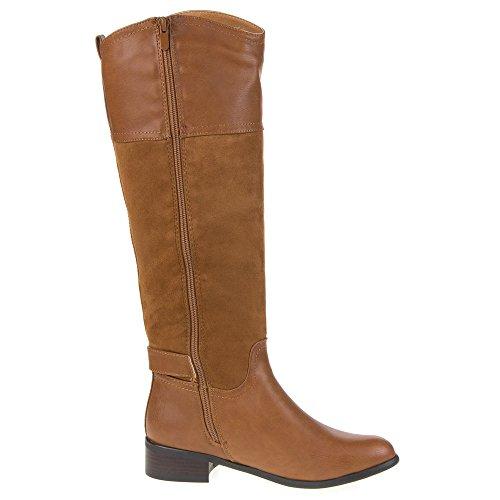 Mujer Guantes, b951, botas marrón claro