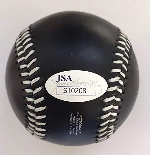 NOLAN RYAN AUTO AUTOGRAPH SIGNED SPINNEYBECK BLACK HALL OF FAME BASEBALL TEXAS RANGERS COA JSA HOF