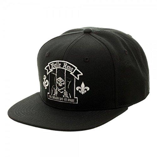 Price comparison product image New DC Comics Suicide Squad Belle Reve Snapback Cap Hat Adjustable Adult Sz Flat Bill