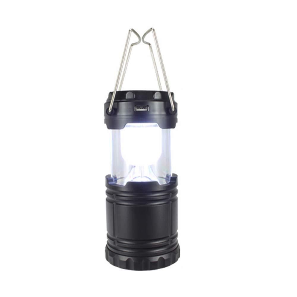 NOBLJX Solar Camping Laternen wiederaufladbare Ultra Bright Leichtgewicht Wasserwiderstandsfähige Notlicht-LED-Taschenlampe für das nächtliche Angeln Wandern
