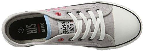 Pink 151 HIS Basses Grey Femme 020 Grau 1xYqf