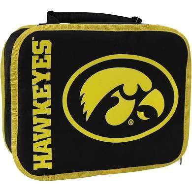 Officially Licensed NCAA Iowa Hawkeyes Sacked Lunch Cooler (Hawkeyes Football Brown Iowa)