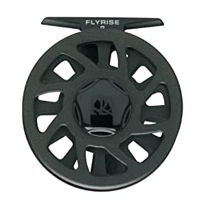 Ross 005606 Flyrise Fly Fishing Reel with 5 to 7-Line Weight, Black Finish