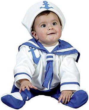 Disfraz de Marinero bebé talla de 6 a 12 meses: Amazon.es ...