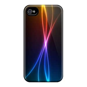 Fashionable Design Colored Beams Rugged Cases Covers For Iphone 6plus New