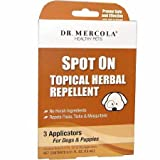 Dr. Mercola Flea Tick Defense for Cats Dogs (8 oz)