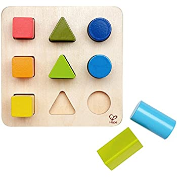Hape Color and Shape Wooden Block Sorter