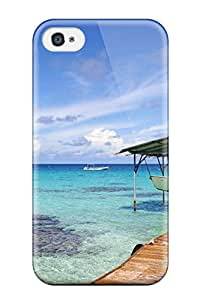For Iphone 4/4s Protector Case Choose Colorful Beach Phone Cover