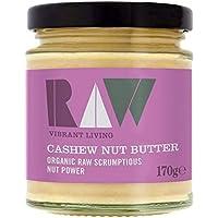 4X Raw Health Organic Cashew Nut Butter 170g