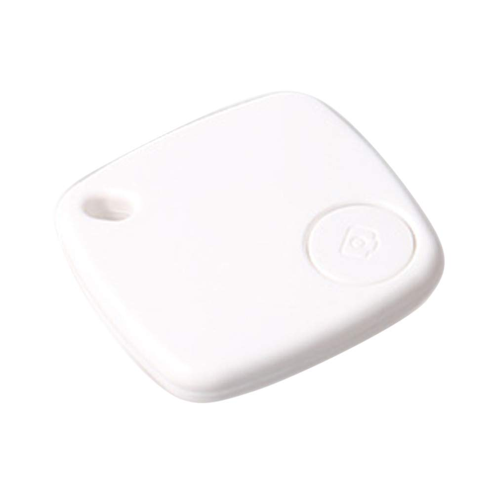 Tpingfe Car Motor GPS Tracker Kids Pets Wallet Keys Alarm Locator Realtime Finder Device (White)