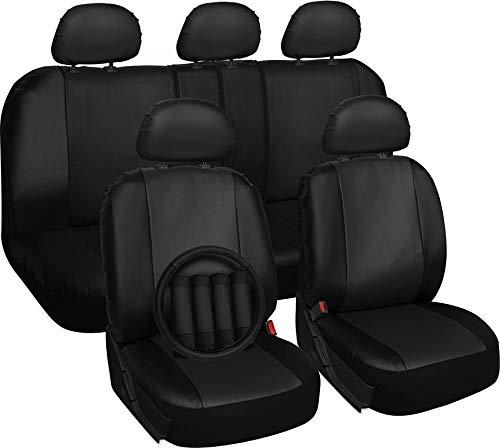 Motorup America Auto Seat Cover Full Set - Fits Select Vehicles Car Truck Van SUV - (Seat Covers Dodge Magnum)