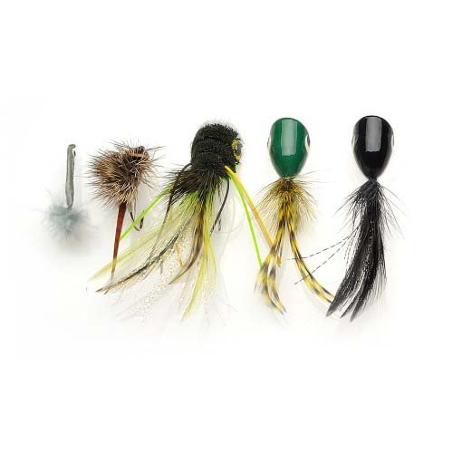 Wright McGill Fly Kit Assortment (5-Piece), Assorted