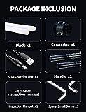 JVMU Lightsaber Rechargeable Cosplay RGB 2