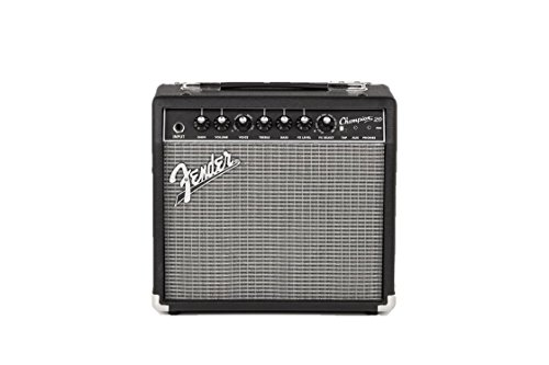 Fender Champion 20 - 20-Watt Electric Guitar Amplifier (Best Overdrive Pedal For Solid State Amp)