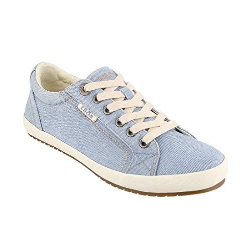 Taos Footwear Women's Star Chambray Sneaker 10 M US