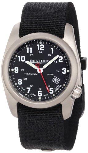 Bertucci Men's 12022 A-2T Original Classics Durable Titanium Field Watch ()