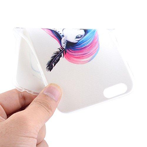 "HYAIT® For IPHONE 6 4.7"" [XXG 17V2]Scratch-Proof Ultra Thin Rubber Gel TPU Soft Silicone Bumper Case Cover -BKI05"