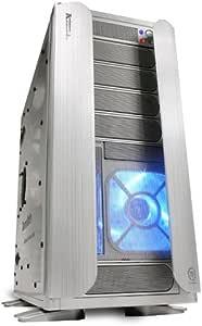 Thermaltake Armor Jr. vc3000swa ATX/Micro ATX Torre Funda con Ventana Lateral Transparente (Plata): Amazon.es: Electrónica