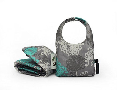 Sacs porcelain Main Print Grey Resistant uz Re Portés Shopping Water qHIRYw8