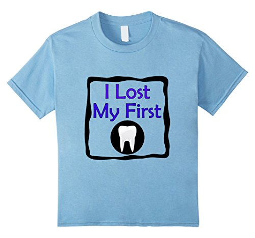 Kids Lost First Baby Tooth Kids T-shirt Dentist Teeth 6