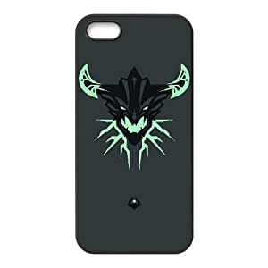 iPhone 5 5s Cell Phone Case Black Defense Of The Ancients Dota 2 OUTWORLD DEVOURER 002 HF1545710