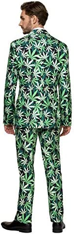 Suitmeister Halloween Suits for Men in Different Prints and Colors – Adult Costumes Include Jacket Pants & Tie 2