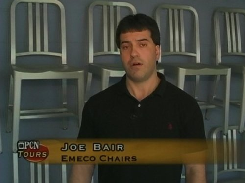 Photo PCN Tours - Emeco Chairs