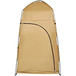 Amashion Pop-Up Waterproof Shower Tent Portable Toilet Changing Room Camping Beach Dresses Tent with Carry Bag