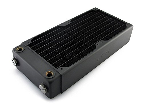 XSPC RX240 Radiator V3, 120mm x 2, Dual Fan, Black