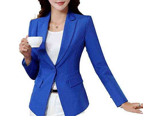 Lovely dog 2018 Autumn and Winter New Korean Slim was Thin Casual Long-Sleeved Small Suit Jacket,3,XXL