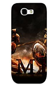 DrGbafh5513tDdpJ With Unique Design Galaxy Note 2 Durable Tpu Case Cover Total War Rome Ii