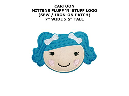 Lalaloopsy Mittens Fluff 'N' Stuff Cartoon DIY Embroidered Sew or Iron-on Applique Patch Outlander (Diy Lalaloopsy Costume)