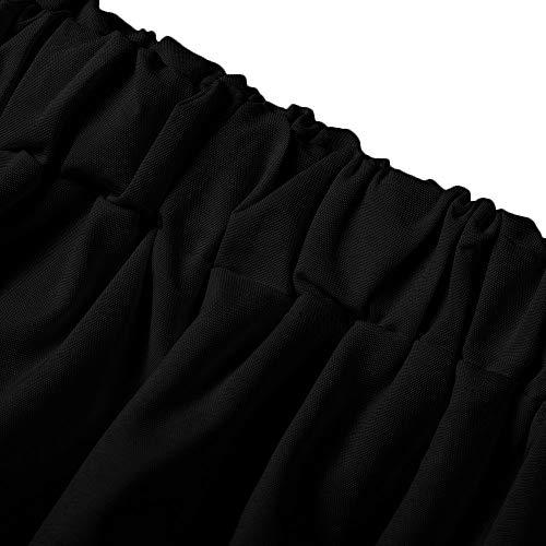 Longues Courte Chic Blouse Tops Hors Col Femme Shirt Fille T Haut paules Chemisier Noir Casual Rond Manches Tops Lache Innerternet paule L'automne Ouvert xaZIwZ